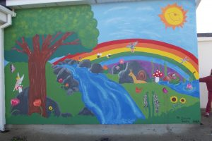 Our New School Mural